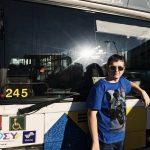 Ο Κωνσταντίνος θέλει από μικρός να γίνει οδηγός λεωφορείων